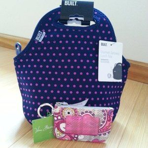 Built Lunch Tote & Vera Bradley ID Case